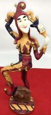 "Jester Harlequin Statue 11.5"" Seymore Mann Medieval Figure Court Joker Fool"