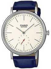 Casio Sapphire crystal cream dial blue LTP-E148L-7AEF Watch - 11% OFF!