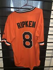 Cal Ripken Authentic Baltimore Orioles Cooperstown Collection Jersey Adult M