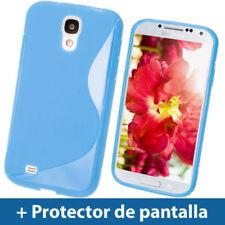 Carcasas Para Samsung Galaxy S4 de color principal azul para teléfonos móviles y PDAs