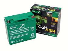 Lucas AGM 12V 22Ah Golf Trolley Battery, Mocad, Hillbilly