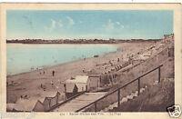 85 - cpa - ST GILLES CROIX DE VIE - La plage