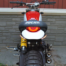 Ducati Scrambler Desert Sled Fender Eliminator  - New Rage Cycles