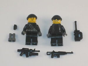 Lego 2 Custom Minifig NAVY SEALS ARMY BUILDER Special Ops