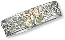 Landstroms Black Hills Gold on Silver Butterfly  Ring