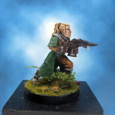 Painted Ral Partha Crucible Miniature Elf Infantry Archer