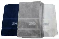 Genuine Hugo Boss Bath Sheet White 180cm X 100cm 100 Cotton