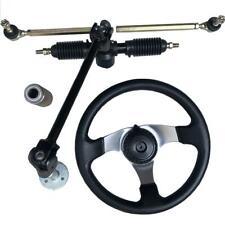 110cc Chinese Go Kart Steering Wheel Quad Parts 32cm Gear Rack Pinion 30cm Steel