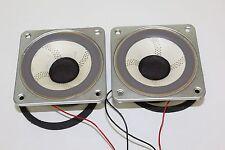 Un par de unidades de unidad de rango medio Wharfedale-controladores-medios-altavoces de rango medio