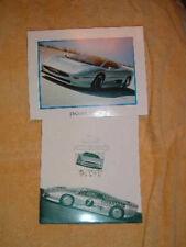 Jaguar XJ220 super car presskit literature & photo 1992