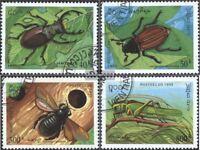 Laos 1481-1484 (kompl.Ausg.) gestempelt 1995 Insekten