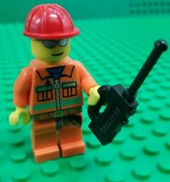 *NEW* Lego Emergency Services SES Rescue Figure Worker Fig Walkie Talkie x 1