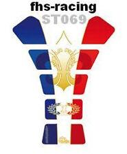 St069, MOTOGRAFIX-Protezione per il serbatoio, serbatoio Protektor, Streetfighter, Frensh Style