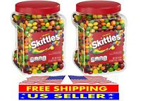 2 Pack Skittles Original Fruity Candy Jar (54 oz.) 2-Pack FREE SHIPPING