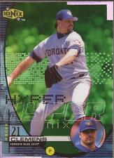 ROGER CLEMENS 1999 UD Ionix Hyper H15 Toronto Blue Jays