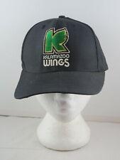 Kalamazoo Wings Hat (VTG) - IHL K Wing Logo - Adult Snapback