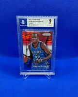 2014-15 Panini Prizm Prizms Red White and Blue Pulsar #86 Kevin Durant/ BGS 9