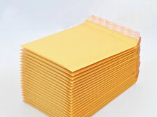 10Pcs Kraft Bubble Envelopes Padded Mailers Shipping Self-Seal Bags 140mmx160mm
