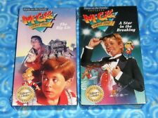 McGee and Me The Big Lie and A Star in the Breaking VHS Video Tape 2 Lot Sealed