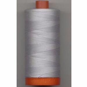 Aurifil Thread #2600 Dove Cotton Mako 50 wt 1422 yard spool