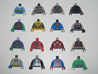 Lego ® Minifig Corps Torse + Bras + Main Super Heroes Marvel Choose Torso NEW