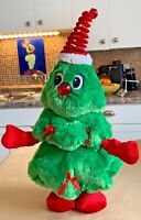 Vintage Christmas Tree Animated Motionette Light Up Musical Dance Plush Dan Dee