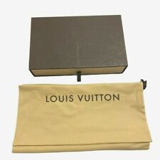 Louis Vuitton | Signature Brown Gift Box & Bag | Slider Drawer | 8x5x1.5 inches