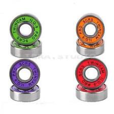 10PCS Roller Skate Skateboard Longboard Wheel Bearings ABEC-5 608-2RS Red Set