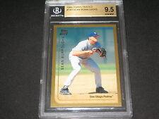 SEAN BURROUGHS 1999 ROOKE AUTHENTIC BASEBALL CARD BECKETT GRADED GEM MINT 9.5