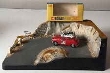 CORGI 339 MONTE CARLO MINI COOPER 'S' ~ORIGINAL WINDOW BOX+DIORAMA SCENE DISPLAY