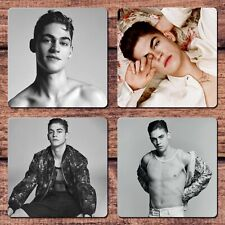 Hero Fiennes Tiffin Coasters NEW Sexy Hot Guy For Coffee Tea Cup Mug