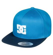 4e914da7616 DC SHOES MENS BASEBALL CAP.NEW SNAPPY BLUE FLAT PEAK SNAPBACK HAT 8S 75 BLV0