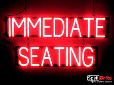 SpellBrite Ultra-Bright IMMEDIATE SEATING Sign Neon look LED performance