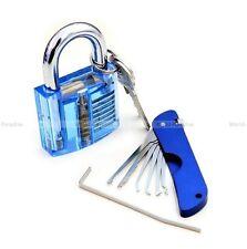 lockpicking lock pick set tools unlocking crochetage padlock jackknife practice