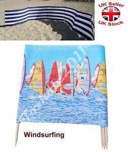 Amazing !!! Windbreak Wind Break Outdoor Beach Holiday 4-10m 13-39ft Windsurfing