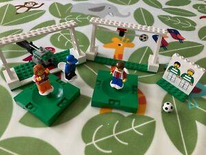 LEGO Vintage Sports Basketball and Football 3413 & 3414