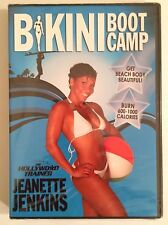 "Jeanette Jenkins The Hollywood Trainer ""Bikini Boot Camp"" DVD (2009) BRAND NEW"