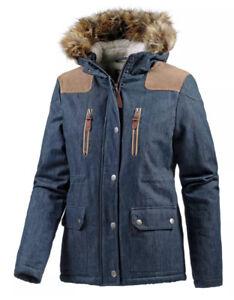 NEU WLD Crispy Pockets Winterjacke Jacke Teddyfell Jeans M L XL 38 40 42 44 139€