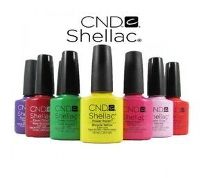 MEGA SALE! CND Shellac UV LED Gel Nail Polish 7.3ml 0.25oz Color Coat Nail Art
