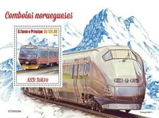 Sao Tome & Principe Norwegian Trains Stamps 2020 MNH NSB Railways Rail 1v S/S