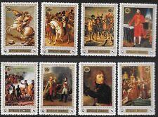 RWANDA, SC 318-325, 1969 Napoleon Art issue. MNH. Full set of 8