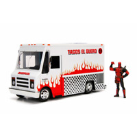 Deadpool Figure and Taco Truck Marvel 1:24 Scale Jada 99730