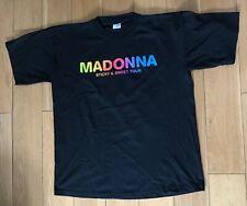 MADONNA STICKY & SWEET TOUR 2008 T SHIRT XL NEW