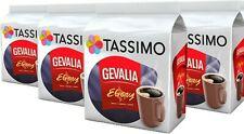 4 x Packs Tassimo Gevalia Ebony Morkrost T Discs Pods - 64 T Discs 64 Drinks