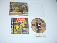 TOMB RAIDER: THE LAST REVELATION  complete in case w/ Manual - Playstation / PS2