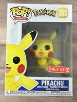 Funko Pop! Games Pokemon Pikachu #353 Target Exclusive H03