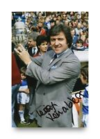 Terry Venables Hand Signed 6x4 Photo England Manager Autograph Memorabilia + COA