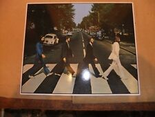 THE BEATLES ABBEY ROAD LP  LARGE 8x10 ART CARD JOHN LENNON PAUL McCARTNEY RINGO