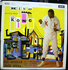 VINYL RECORD KING KONG ALL AFRICAN JAZZ OPERA MONO ffrr LK 4392