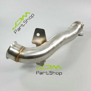 """2.5"""" Turbo Exhaust Downpipe Tube for Mini Cooper R55 R56 R57 R58 JCW Cooper 1.6L"""